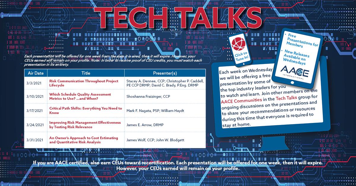 Tech Talks - March